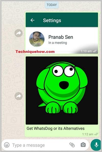 WhatsDog-reply inbox
