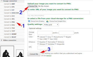 convert to png online to repair damaged file