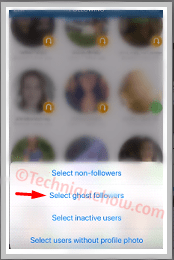 Remove Ghost Followers from Instagram