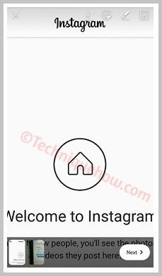 create instagram story