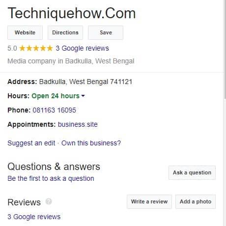 see google reviews