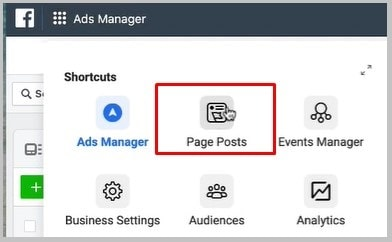 page posts