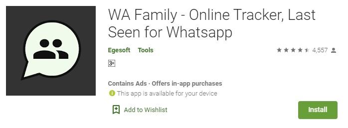 WA Family app
