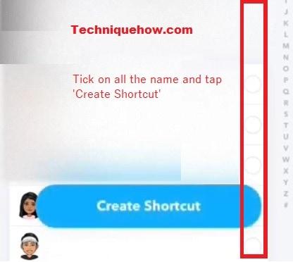 create shortcut now