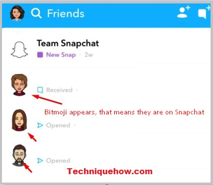 Know if someone is Using Snapchat