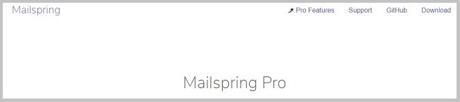 Mailspring tool