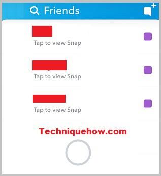 Snapchat my friends