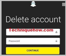 delete your snapchat