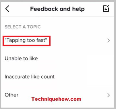 fix tapping too fast