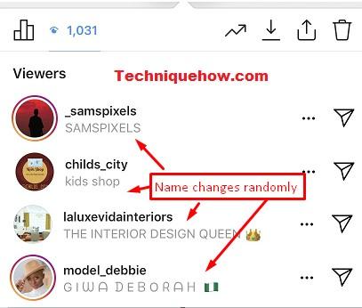 instagram story viewers order