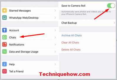 see whatsapp images in gallery on iphone