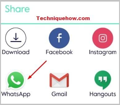 share Google Drive to WhatsApp