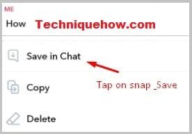 snap saved permanent