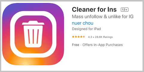Cleaner For Ins