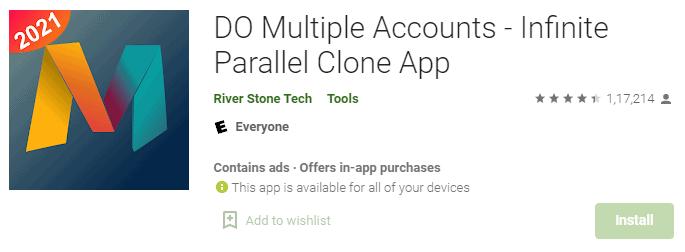 Do Multiple Accounts app