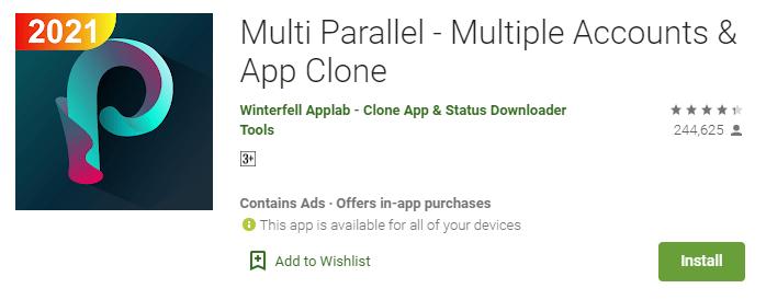 Multi Parallel app