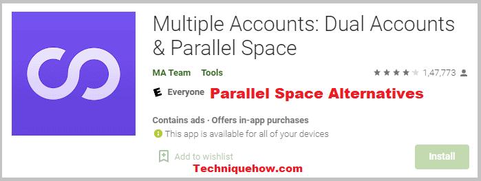 Multiple Accounts app