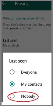 last seen-Nobody