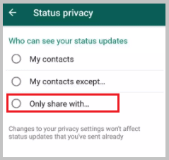 only share with whatsapp