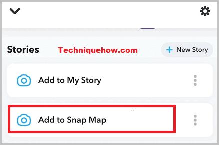 public profile-snap map