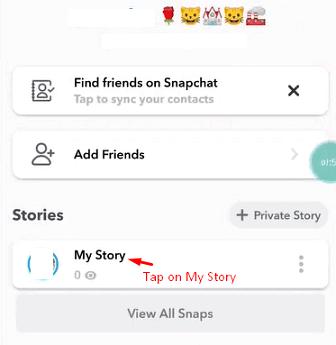 my story save