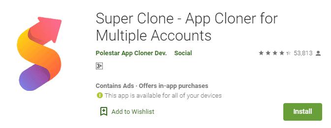 super clone app