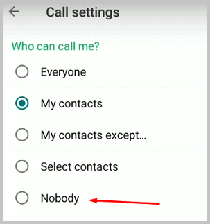 Fouad WhatsApp - nobody calls