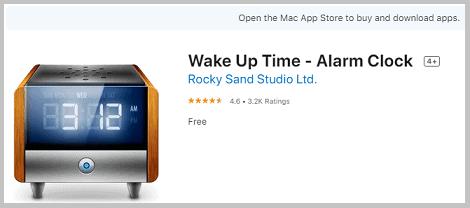 alarm software macbook