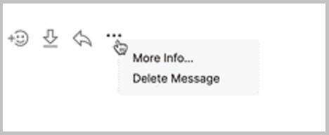 delete message signal desktop