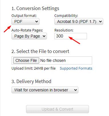 docupub.com settings online