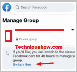 switch now on fb group