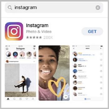 reinstall instagram