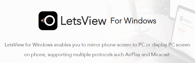 letsview windows tool