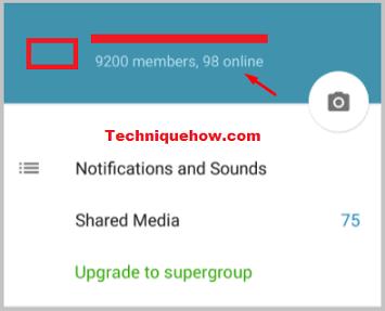 telegram group online notify