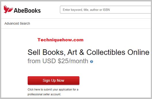 AbeBooks login