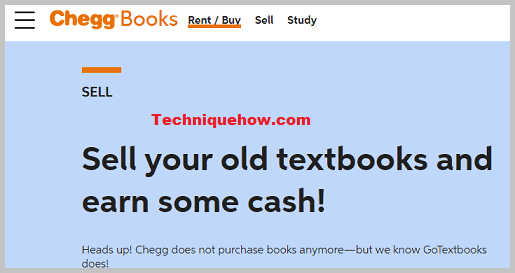 Chegg old books sell