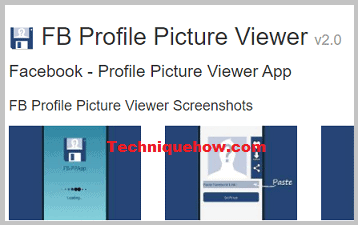 FB profile picture viewer