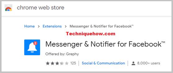Messeneger & Notifier Extension