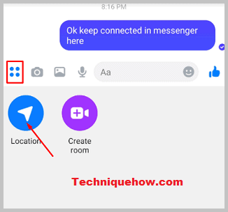 Messenger location share
