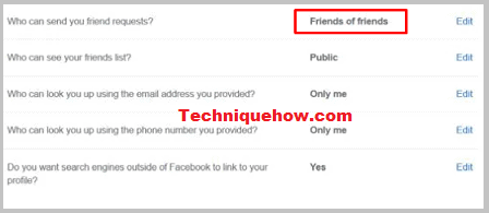 facebook privacy friends