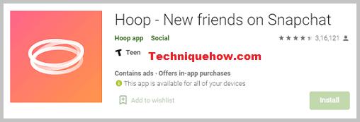 hoop app snapchat add