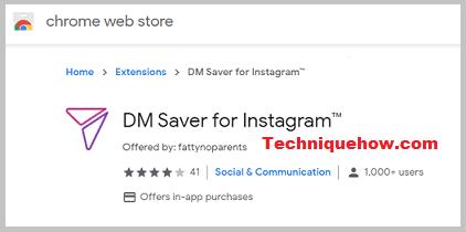 DM Saver for Instagram