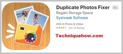 Duplicate photos fixer app