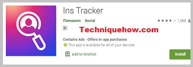Ins Tracker app