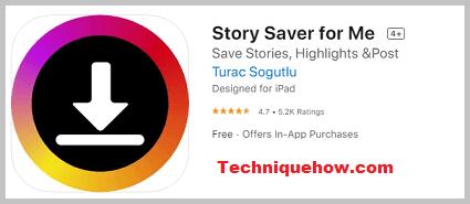 Story Saver for Me ios