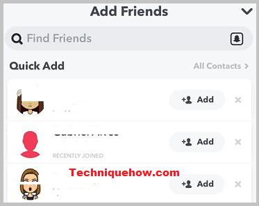 add friends snapchat