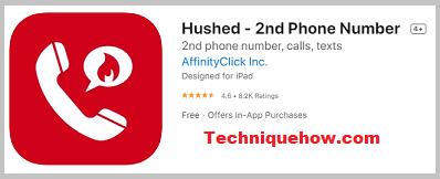 hushed ios app