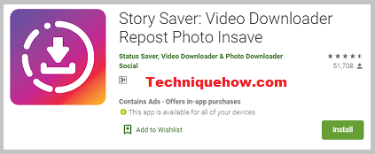 story saver android