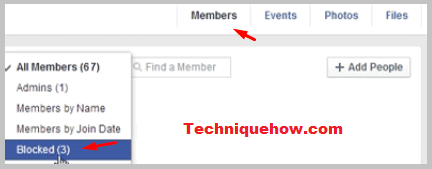 unblocking someone facebook group