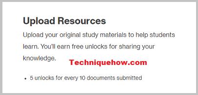 benefit upload resources course hero